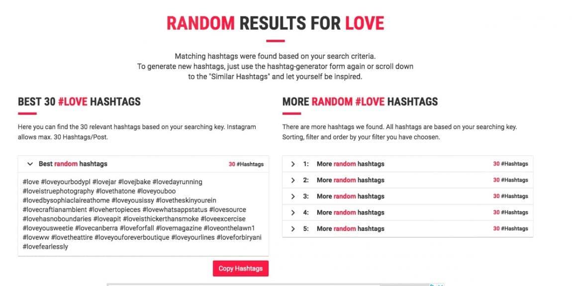 alhashtags
